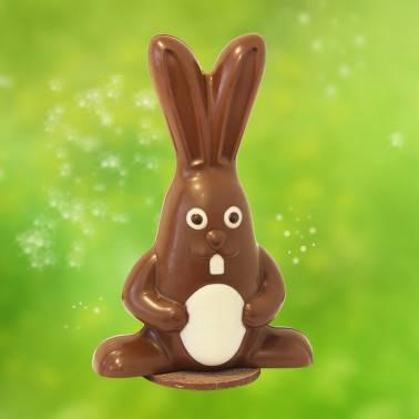 Lapin Dingo en Chocolat au Lait - Pâques - Bello & Angeli Chocolatier