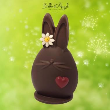 Lapin mignon Chocolat Noir