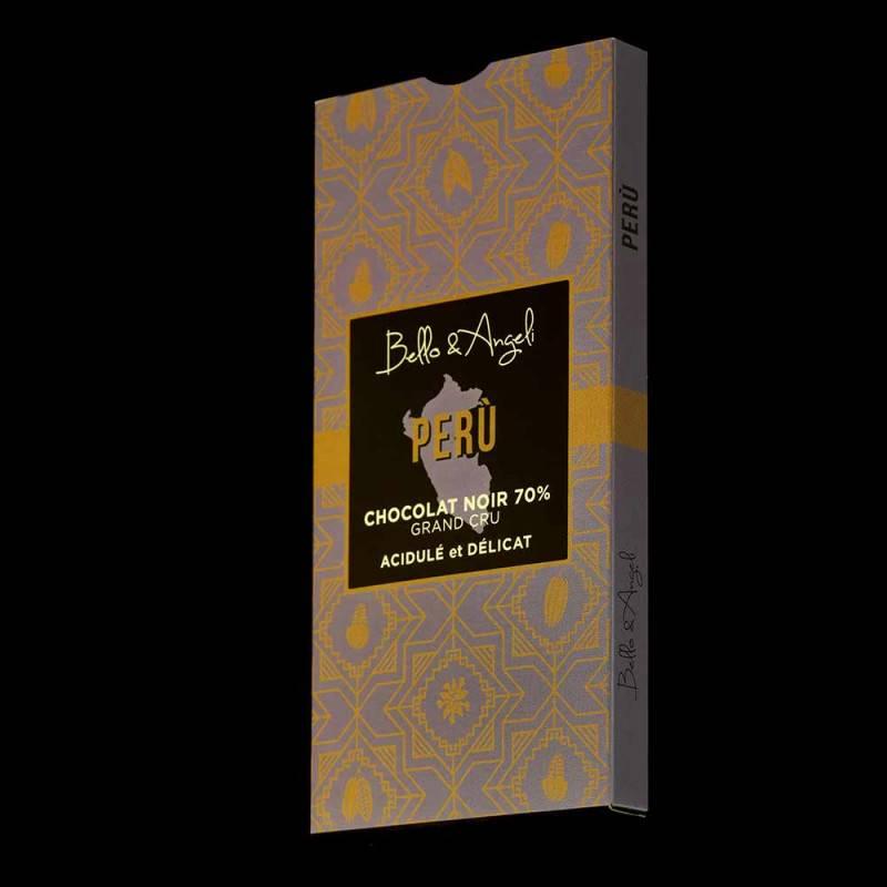 Tablette Perou 70% Chocolat noir