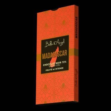 Tablette Madagascar 72% chocolat noir