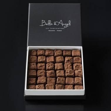 COFFRET TRUFFES AU CHOCOLAT GRAND CRU
