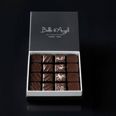 COFFRET GANACHES GRANDS CRUS       16 chocolats