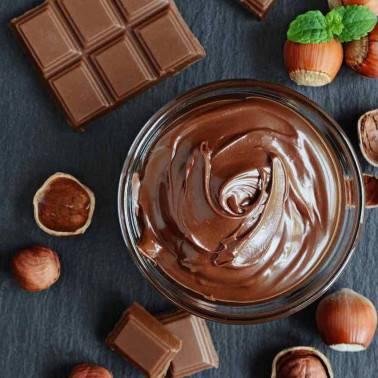 BACIO - CRÈME GLACÉE CHOCOLAT NOISETTE - POT 0,6L