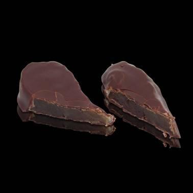 Gingembre confit et chocolat - zoom