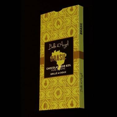 Chocolat Noir Grand Cru Origine Brésil