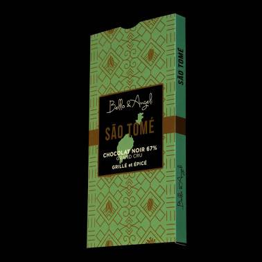 Tablette de Chocolat Noir GRAND CRU SAO TOME