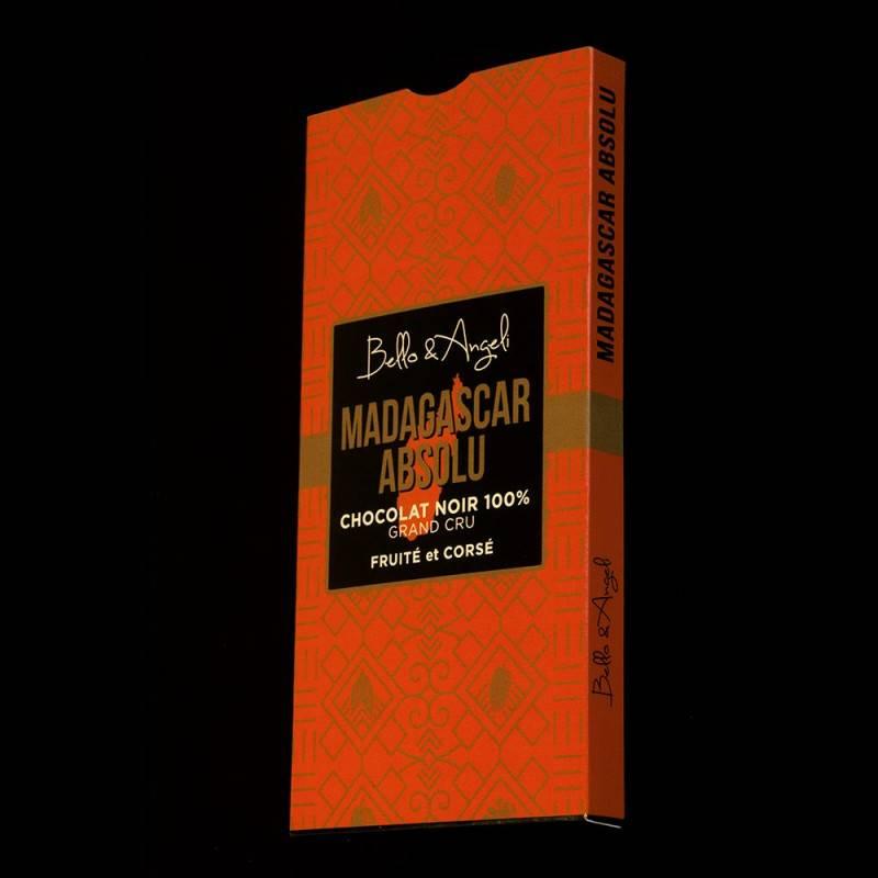 Tablette de Chocolat Noir GRAND CRU 100%