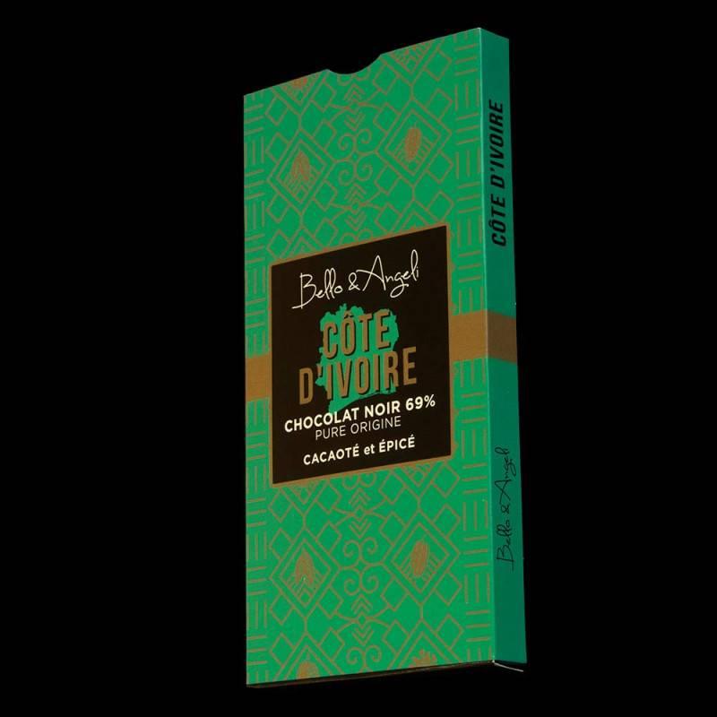 Tablette de Chocolat Noir GRAND CRU COTE D'IVOIRE