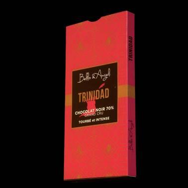 Tablette de Chocolat Noir GRAND CRU TRINIDAD