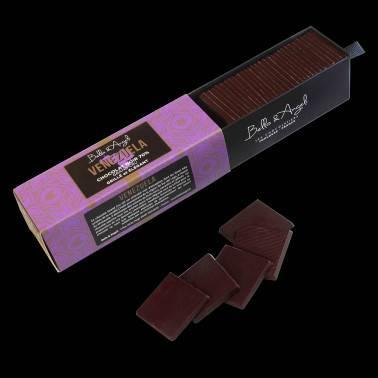 Bello & Angeli Palets dégustation Chocolat noir Grand Cru Vénézuela