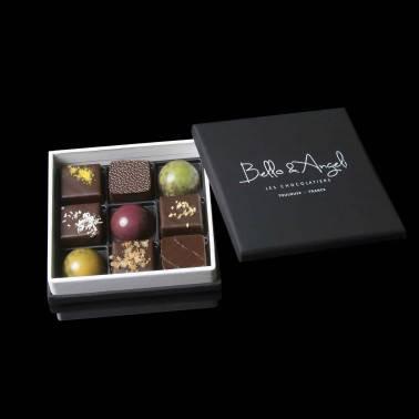 COFFRET DÉCOUVERTE 9 chocolats