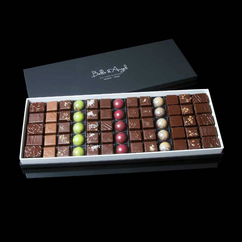 Coffret Assortiment de 144 Chocolats artisanaux - Bello & Angeli