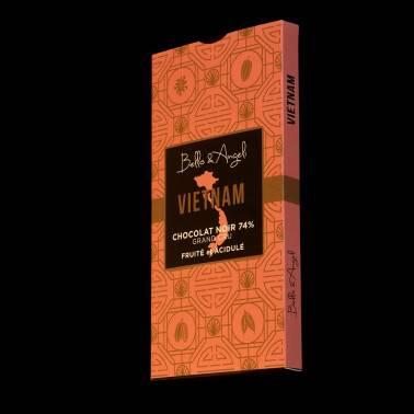 Tablette de Chocolat Noir GRAND CRU VIETNAM 74%