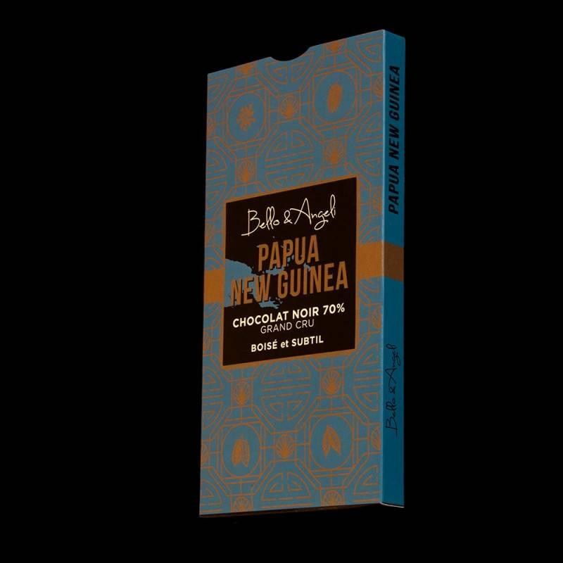 Tablette de chocolat noir Grand Cru de Papouasie 70%